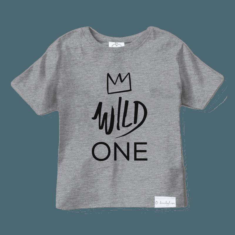 Wild One T Shirt Dandylion Kids Clothing